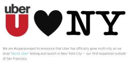 Uber NYC Launch