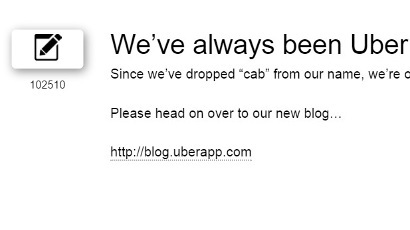 UberCab changes name to Uber