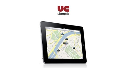 UberCab iPad app launch